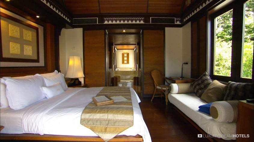 Suite Design geschmackvoll traditionelle Elemente Sofa Speisezimmer