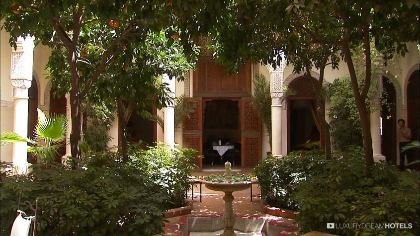 Luxury hotel la villa des orangers marrakesh morocco for La villa des orangers