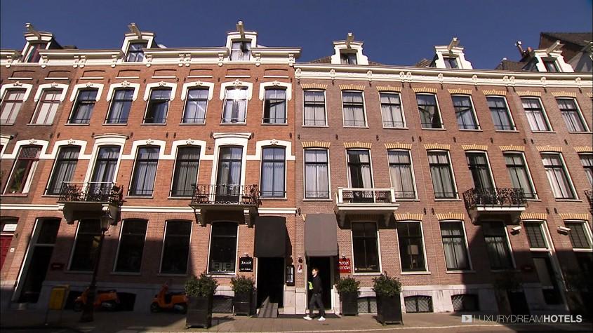 Luxury hotel hotel vondel amsterdam netherlands for Best luxury hotel in amsterdam