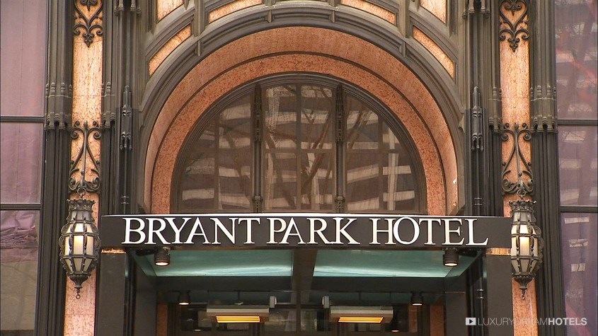 Luxury Hotel The Bryant Park Hotel New York United States Luxury Dream Hotels