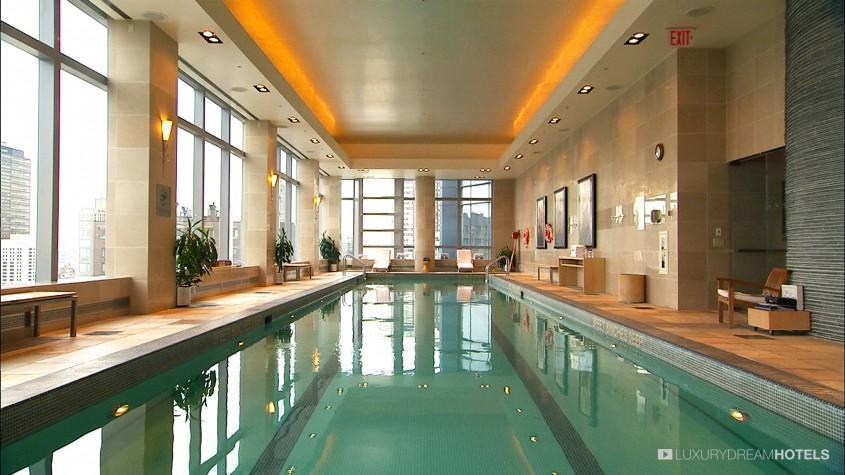 Luxury Hotel Mandarin Oriental New York United States