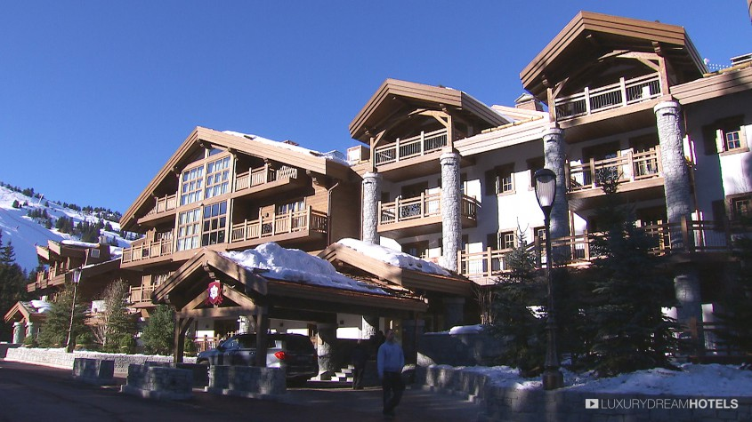 H tel de luxe l 39 apogee courchevel courchevel france for Hotel luxe france