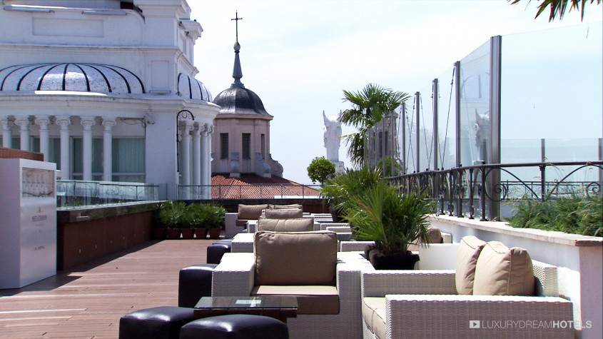 H tel de luxe me madrid madrid espagne luxury dream for Luxury suites madrid madrid