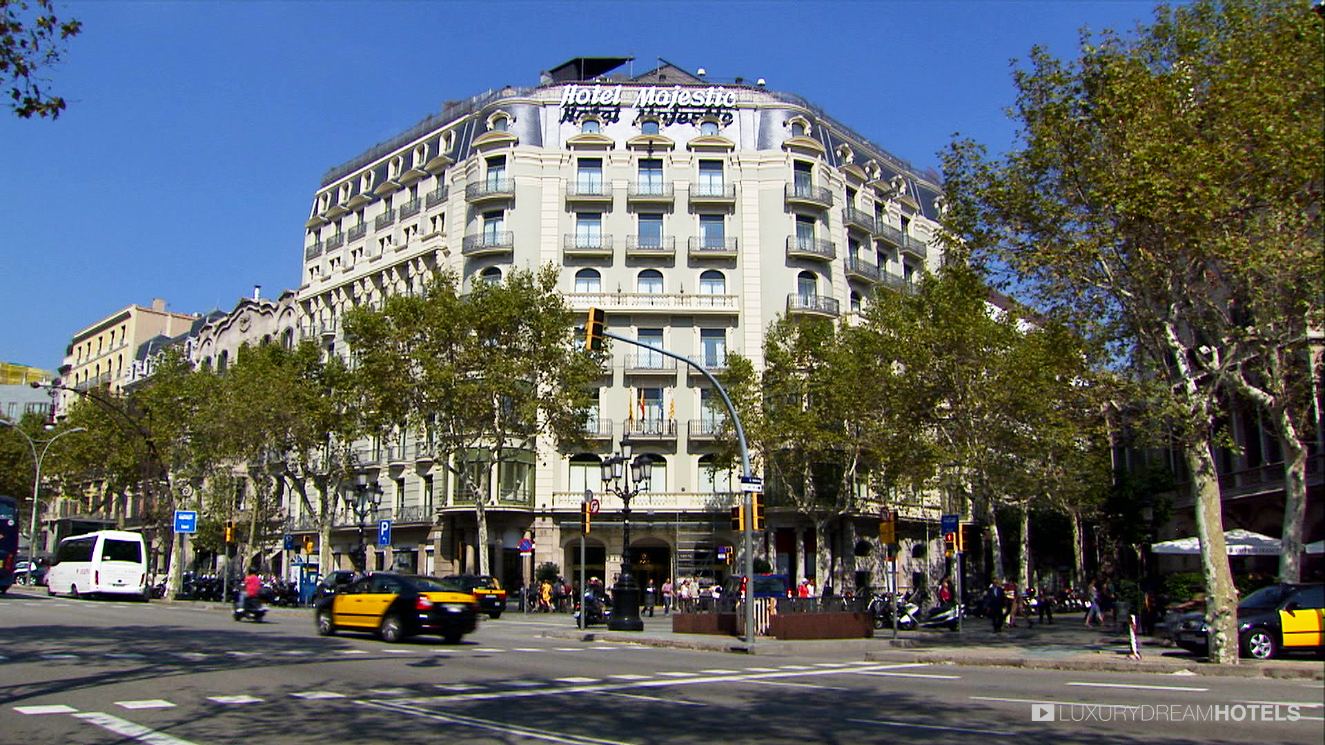 Luxury hotel hotel majestic barcelona spain luxury dream hotels