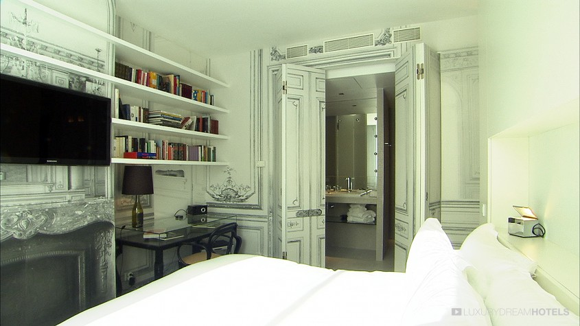 h tel de luxe la maison champs elys es paris france luxury dream hotels. Black Bedroom Furniture Sets. Home Design Ideas