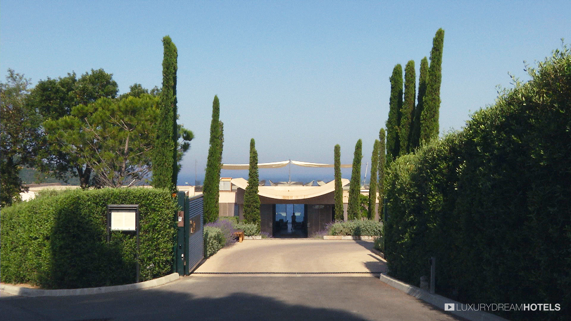 Luxury hotel La Reserve Ramatuelle Saint Tropez France Luxury
