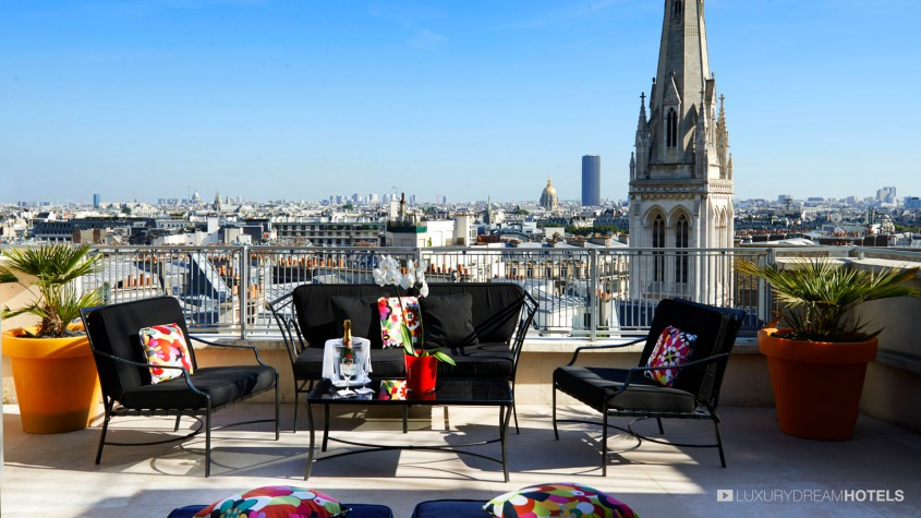 H tel de luxe h tel de sers paris france luxury dream for Hotel de luxe en france