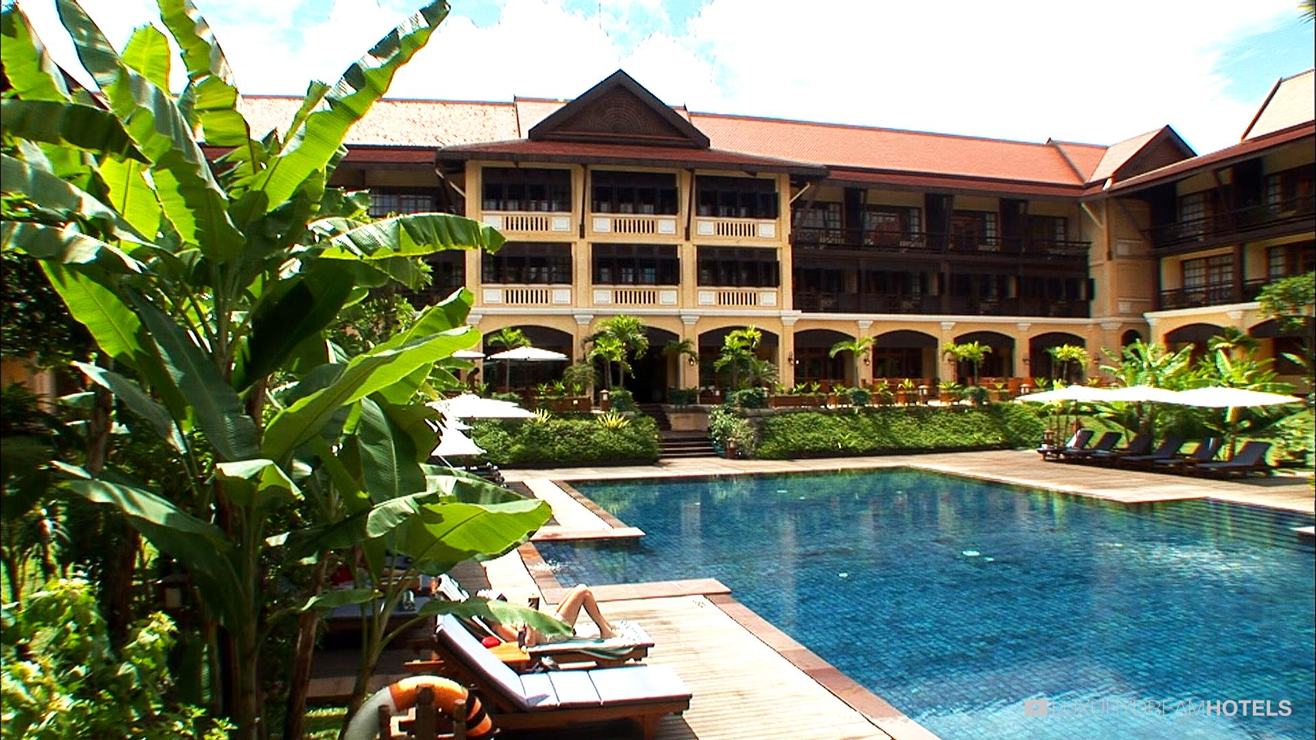 Angkor Palace Resort Spa Luxury Hotel Victoria Angkor Resort Spa Siem Reap Cambodia