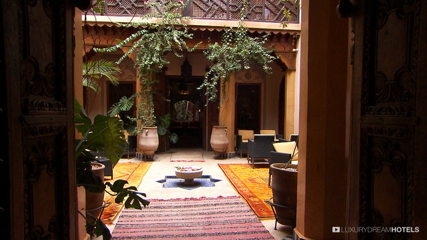Luxury hotel la maison arabe marrackech morocco for A la maison en arabe