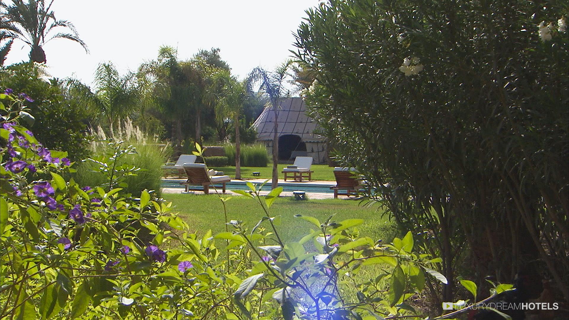 Luxury hotel Villa Jardin Nomade Marrackech Morocco Luxury