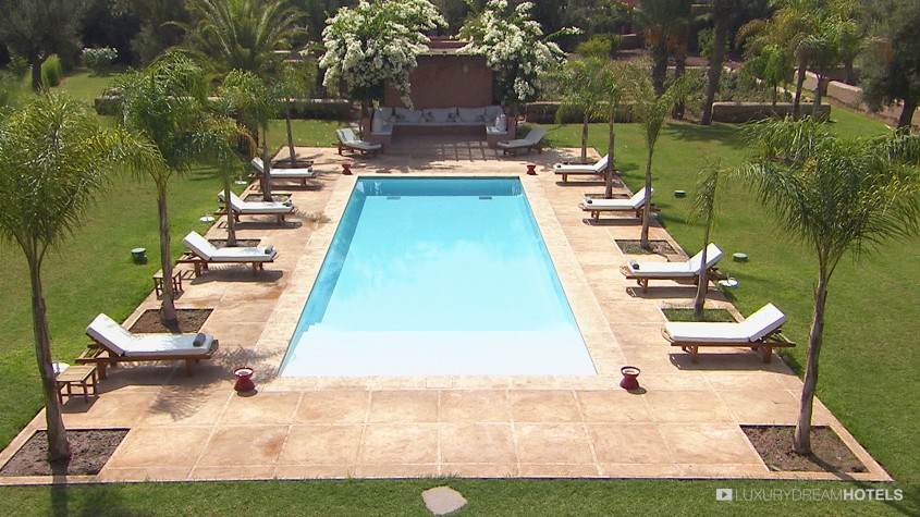 Luxury hotel villa jardin nomade marrackech morocco for Hotel villa jardin barrientos