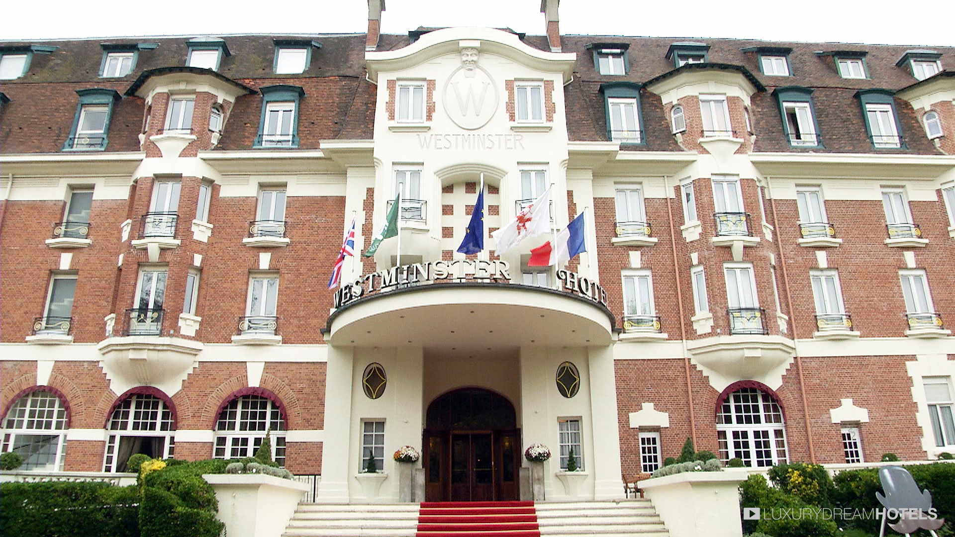 Luxury Hotel Westminster Spa Le Touquet France Dream Hotels