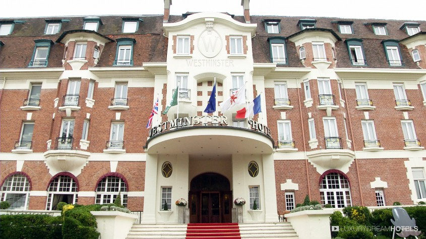 H tel de luxe westminster hotel spa le touquet france for Hotel luxe france