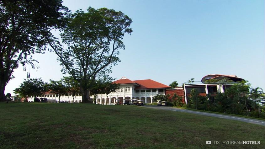 H tel de luxe capella singapore singapour chine for Villa du jardin singapore