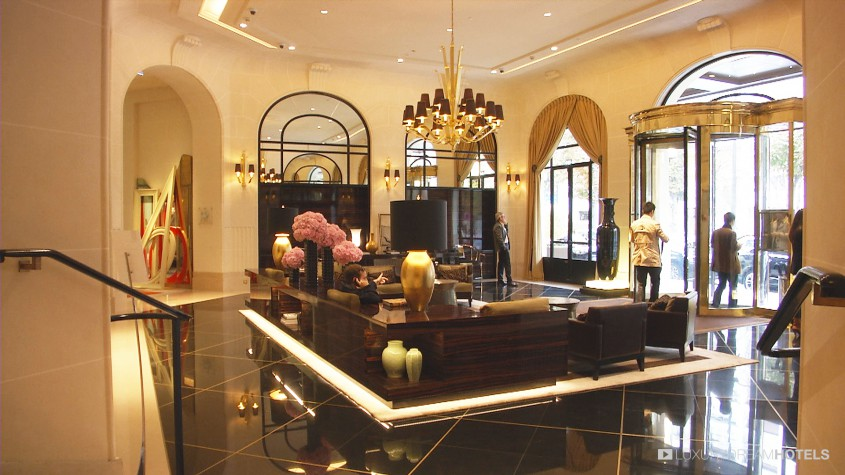 Luxury hotel prince de galles paris paris france for Harmony hotel paris