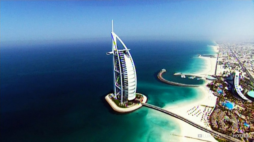 Bekannt Luxury hotel, Burj Al Arab, Dubai, United Arab Emirates - Luxury  NJ83
