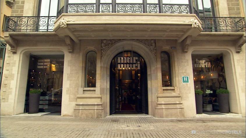Luxury hotel hotel murmuri barcelona spain luxury for Bar marfil barcelona