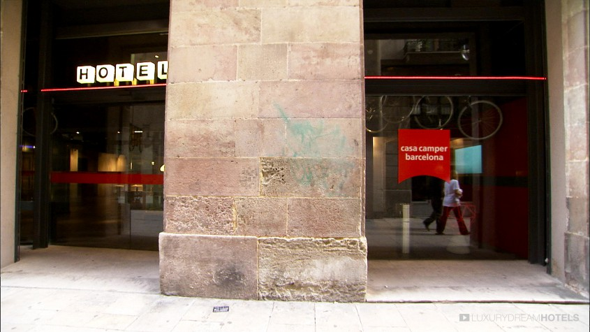 Luxury hotel casa camper barcelona spain luxury dream hotels - Casa camper hotel barcelona ...