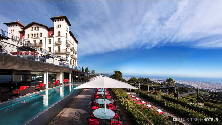 Luxury Hotel Gran Hotel La Florida Barcelona Spain Luxury Dream Hotels